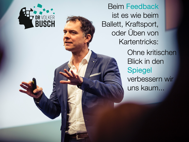 Feedback - Dr. Volker Busch