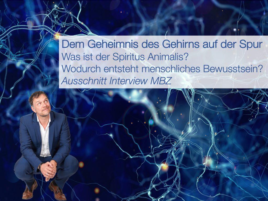 MBZ-Interview Gehirngeheimnisse 1 - Prof. Dr. Volker Busch