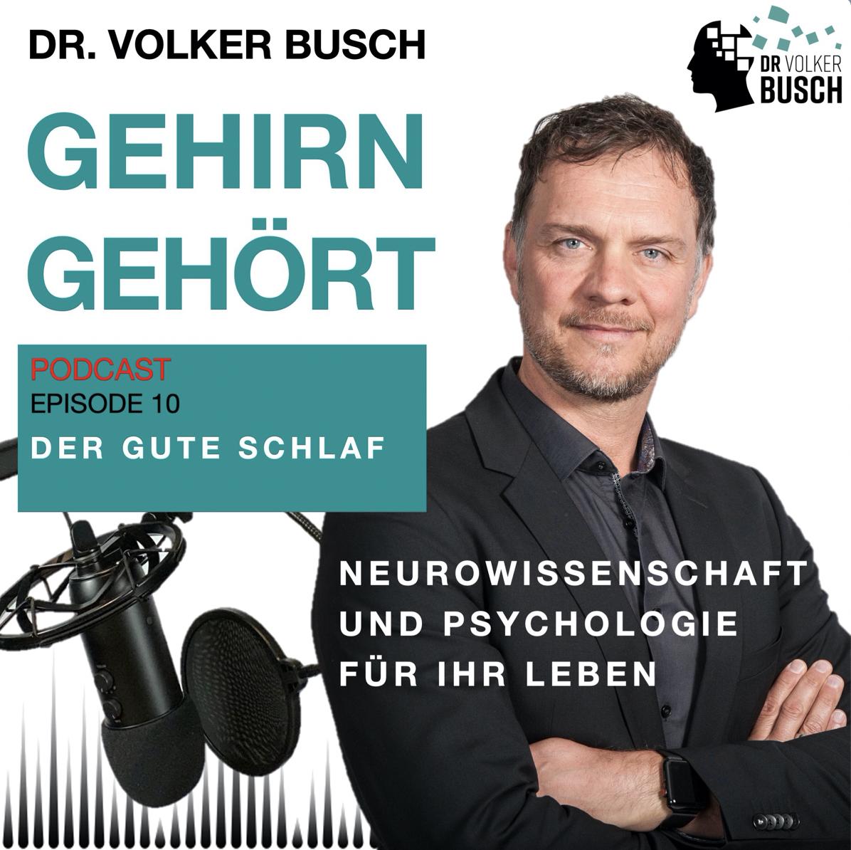 Ohne Schlaf ist alles nichts! – Volker Busch